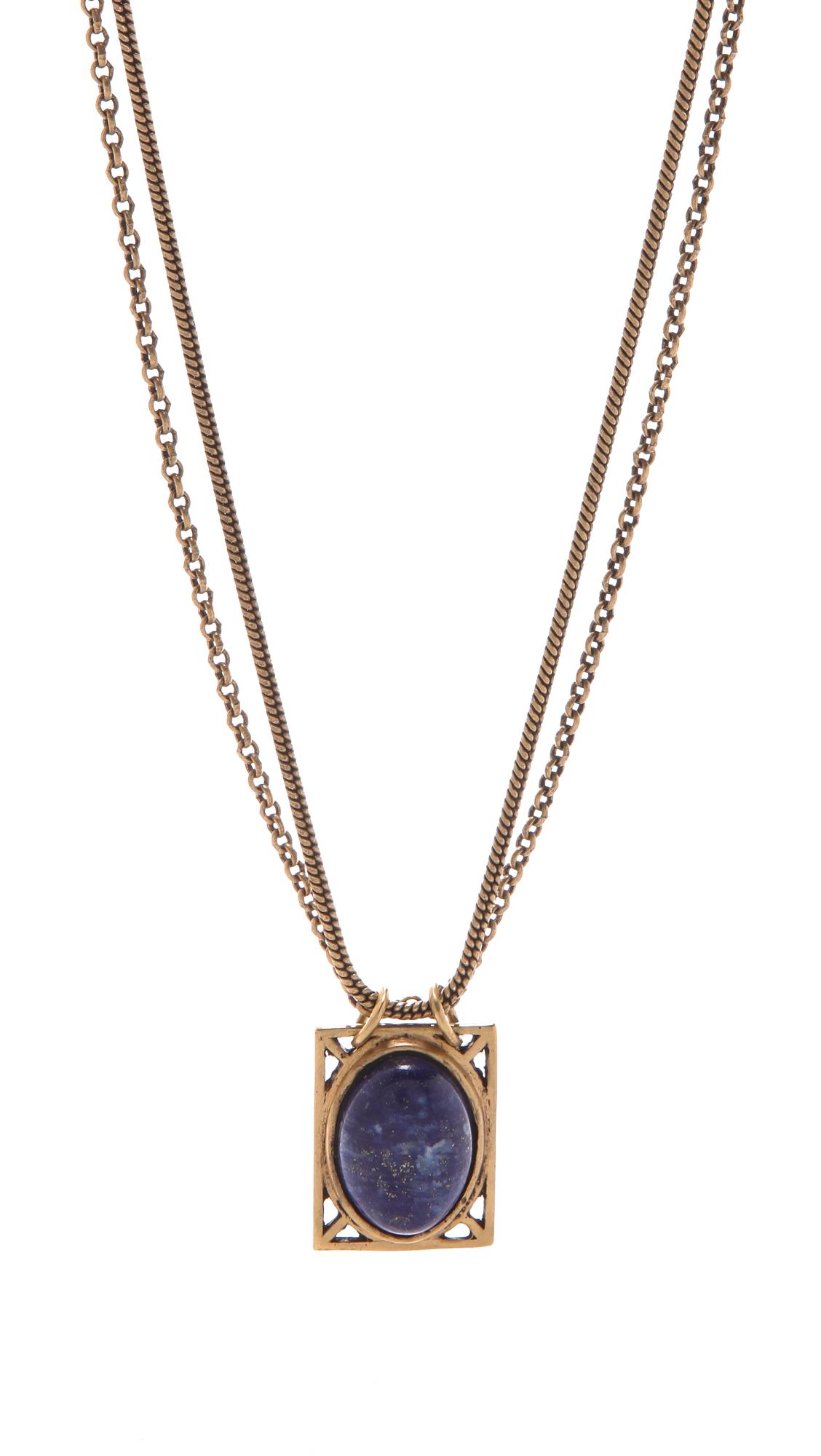 a peace treaty khadija necklace in gold lyst