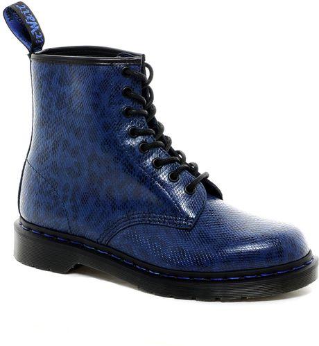 dr martens original 8eye boots in blue for men lyst. Black Bedroom Furniture Sets. Home Design Ideas