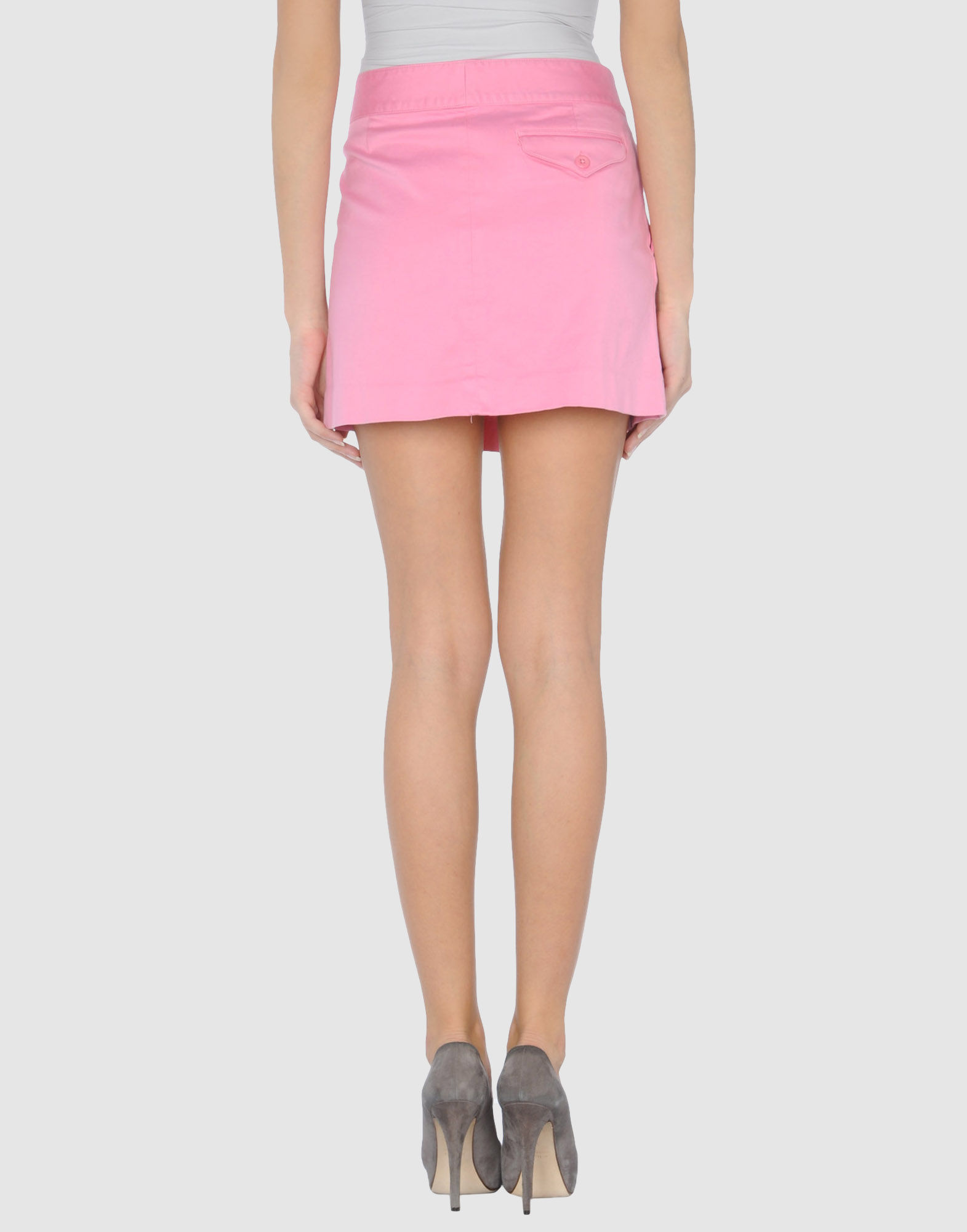 Pink Pony Mini Skirt In Pink Lyst