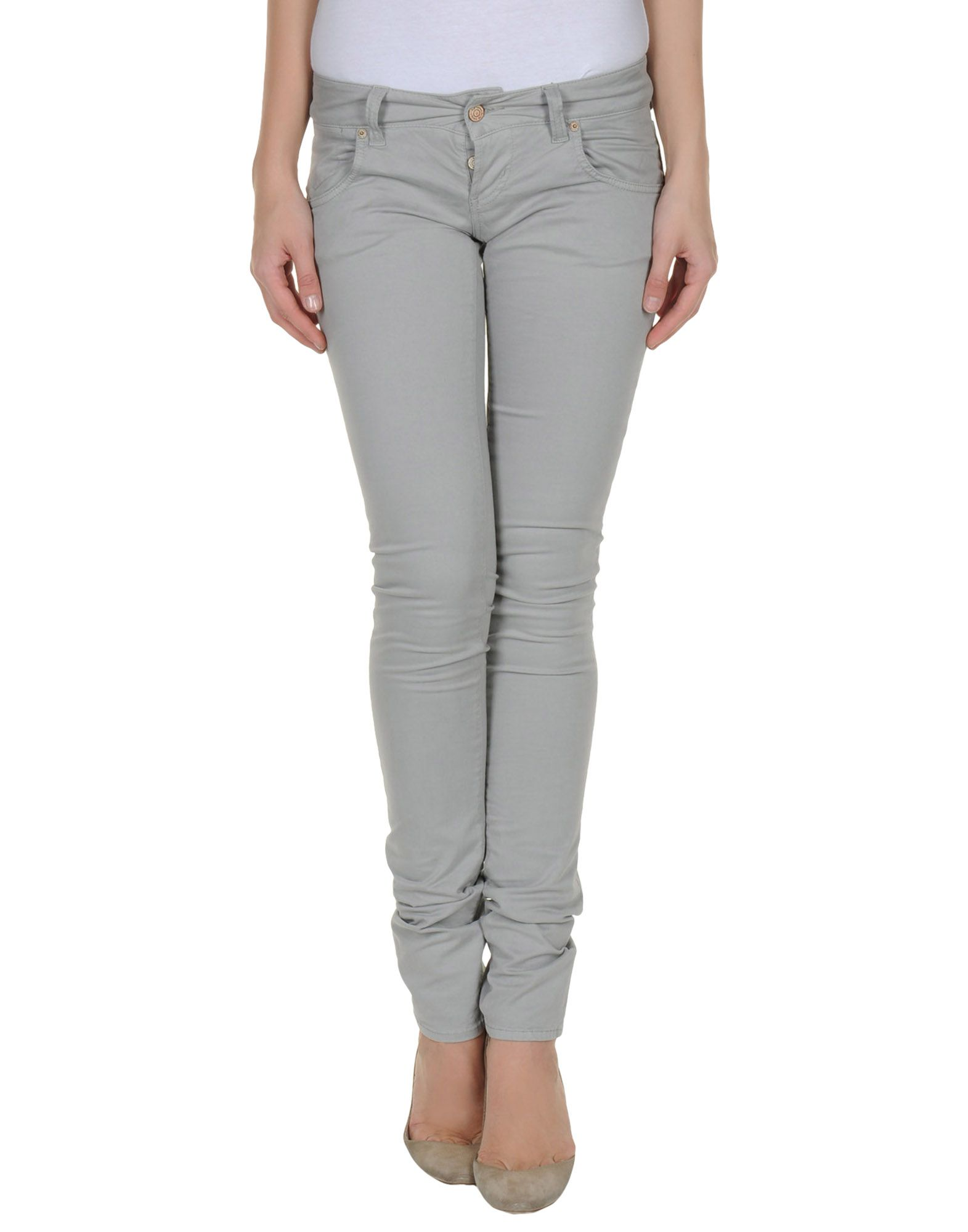 Simple Pence Casual Trouser In Gray Light Grey  Lyst