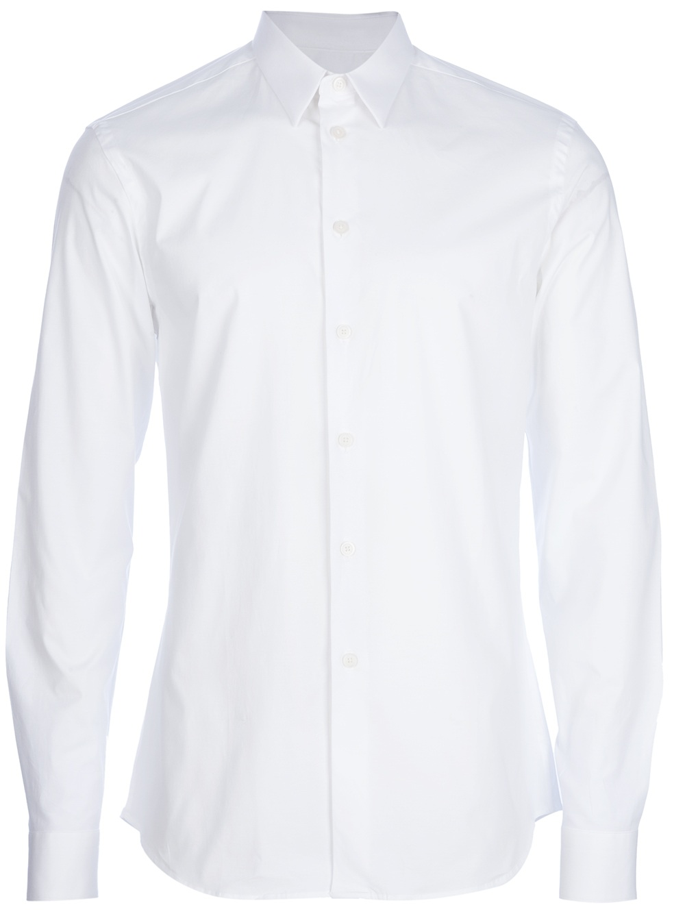 Givenchy Button Up Shirt In White For Men Lyst