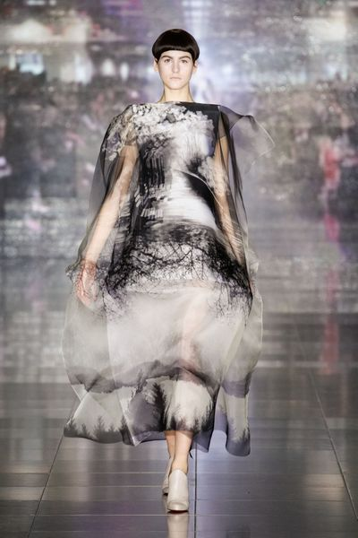 Mary Katrantzou Fall 2013 Runway Look 31 in  - Lyst