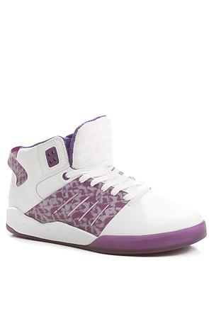 Supra The Lil Wayne Vice Pack Skytop Iii Sneaker In White