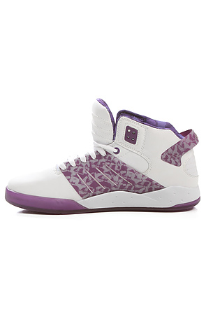 Supra The Lil Wayne Vice Pack Skytop Iii Sneaker In White