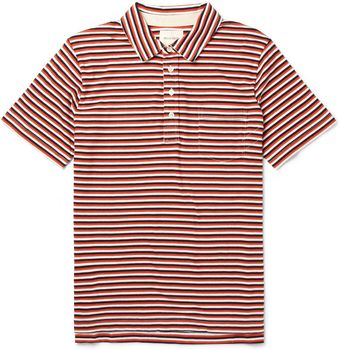 Billy Reid Pensacola Striped Cottonjersey Polo Shirt - Lyst
