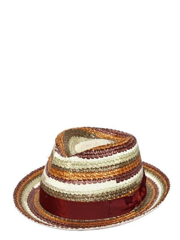 Borsalino Coburg Straw Hat For Men Lyst