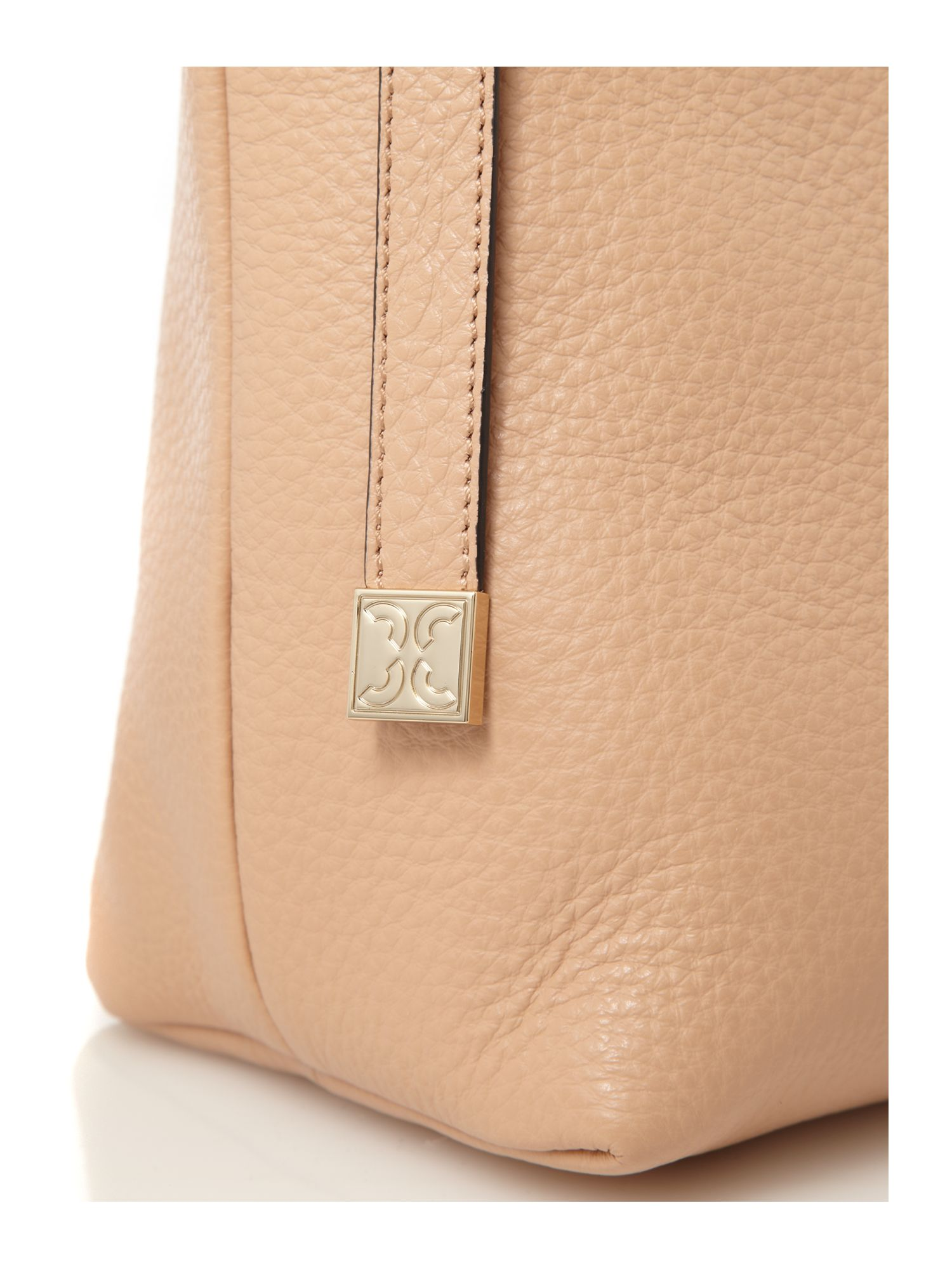 Coccinelle Vittoria Large Crossbody Bag in Natural