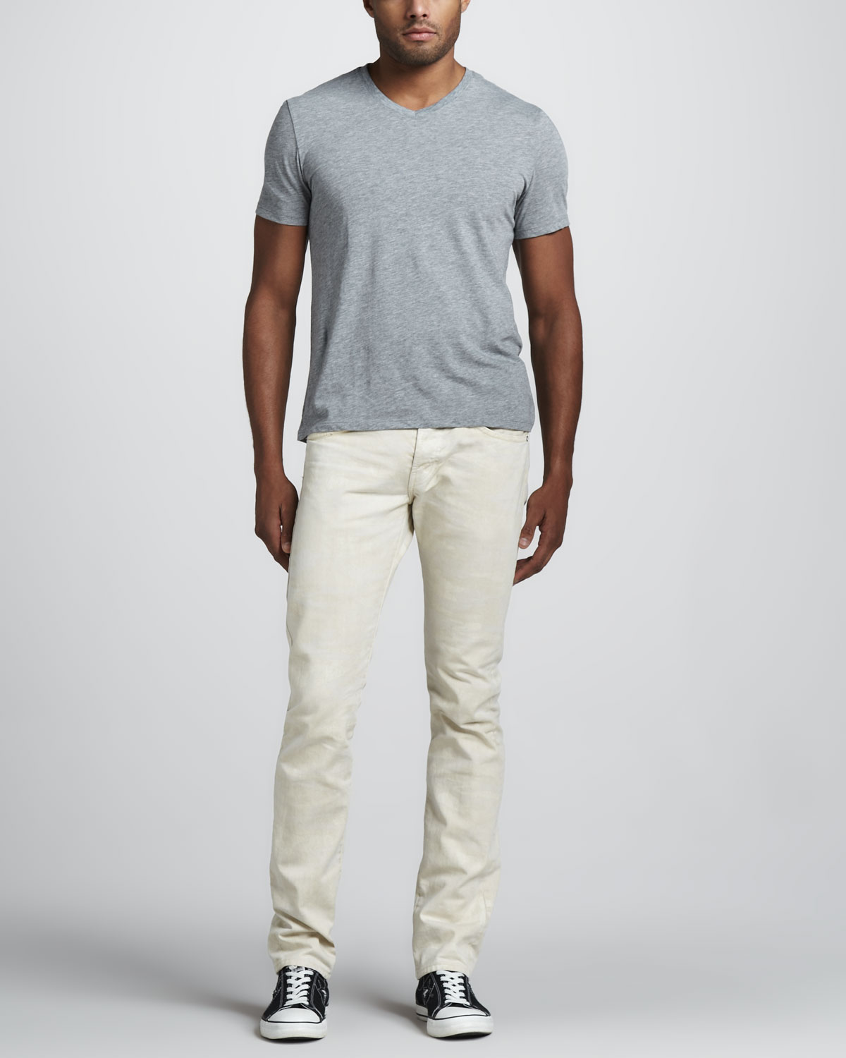 J brand Kane Slim Cream Camo Jeans in Natural for Men | Lyst