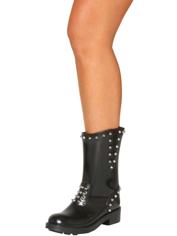 Mancapane 45mm Studded Rubber Boots In Black Lyst