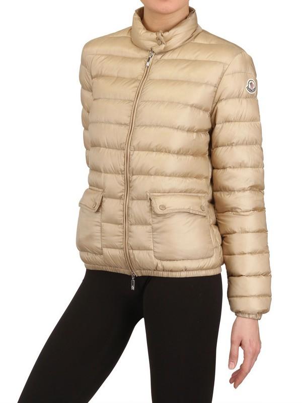 moncler beige coat