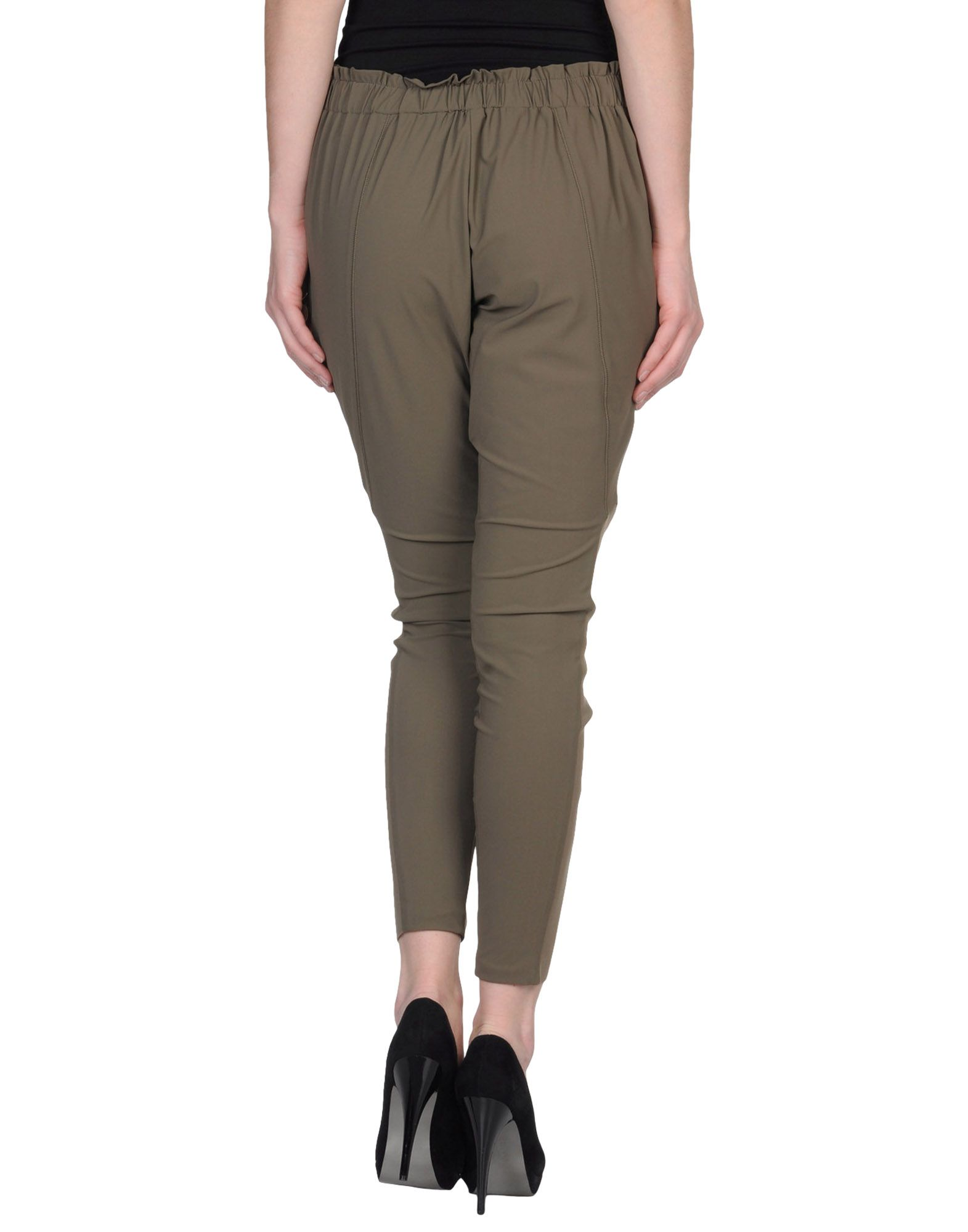 Pinko Casual Pants In Gray Lyst
