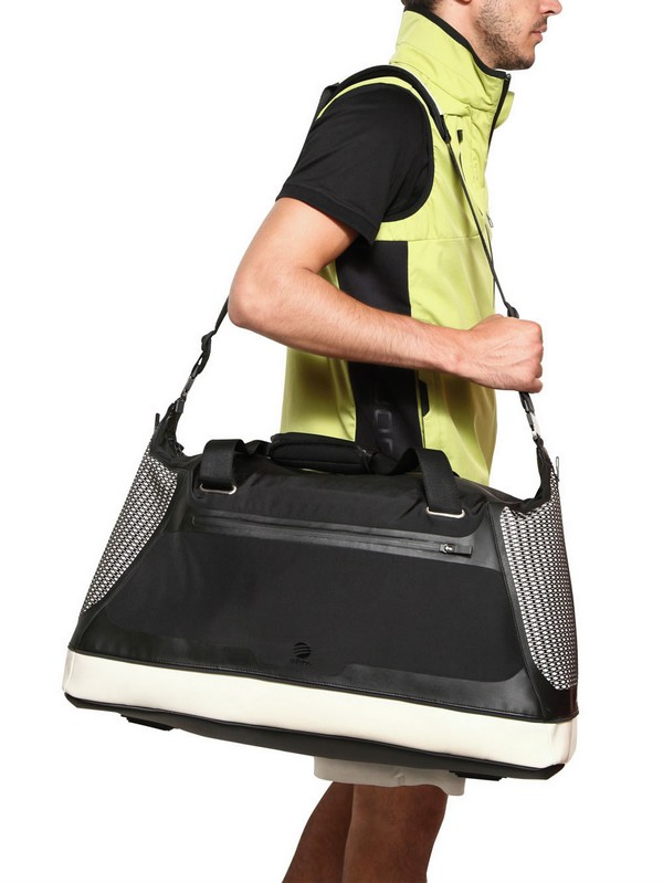 Lyst Porsche Design Bounce Water Resistant Nylon Gym Bag In Black