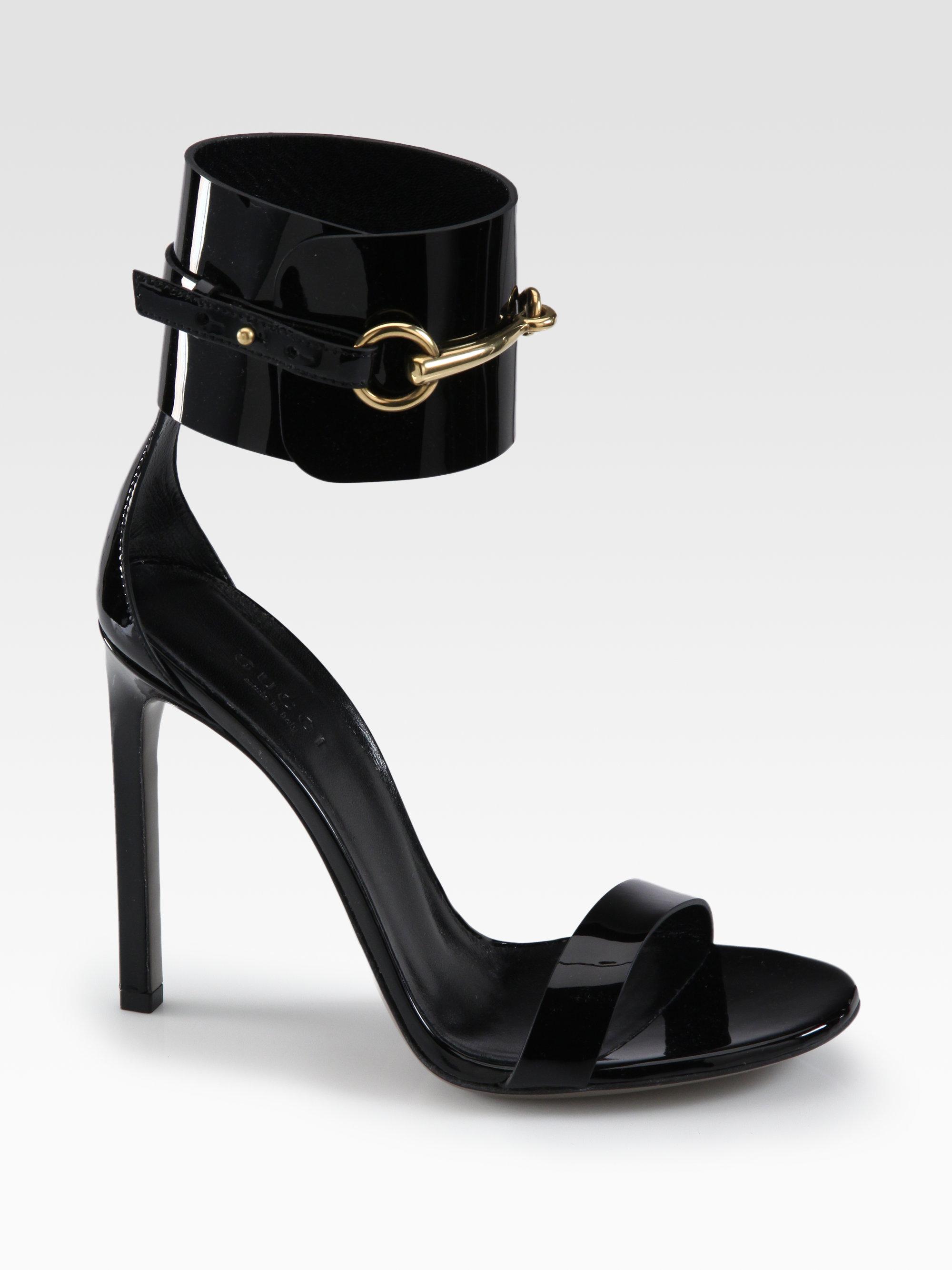 Black gucci sandals - Gucci Black Sandals
