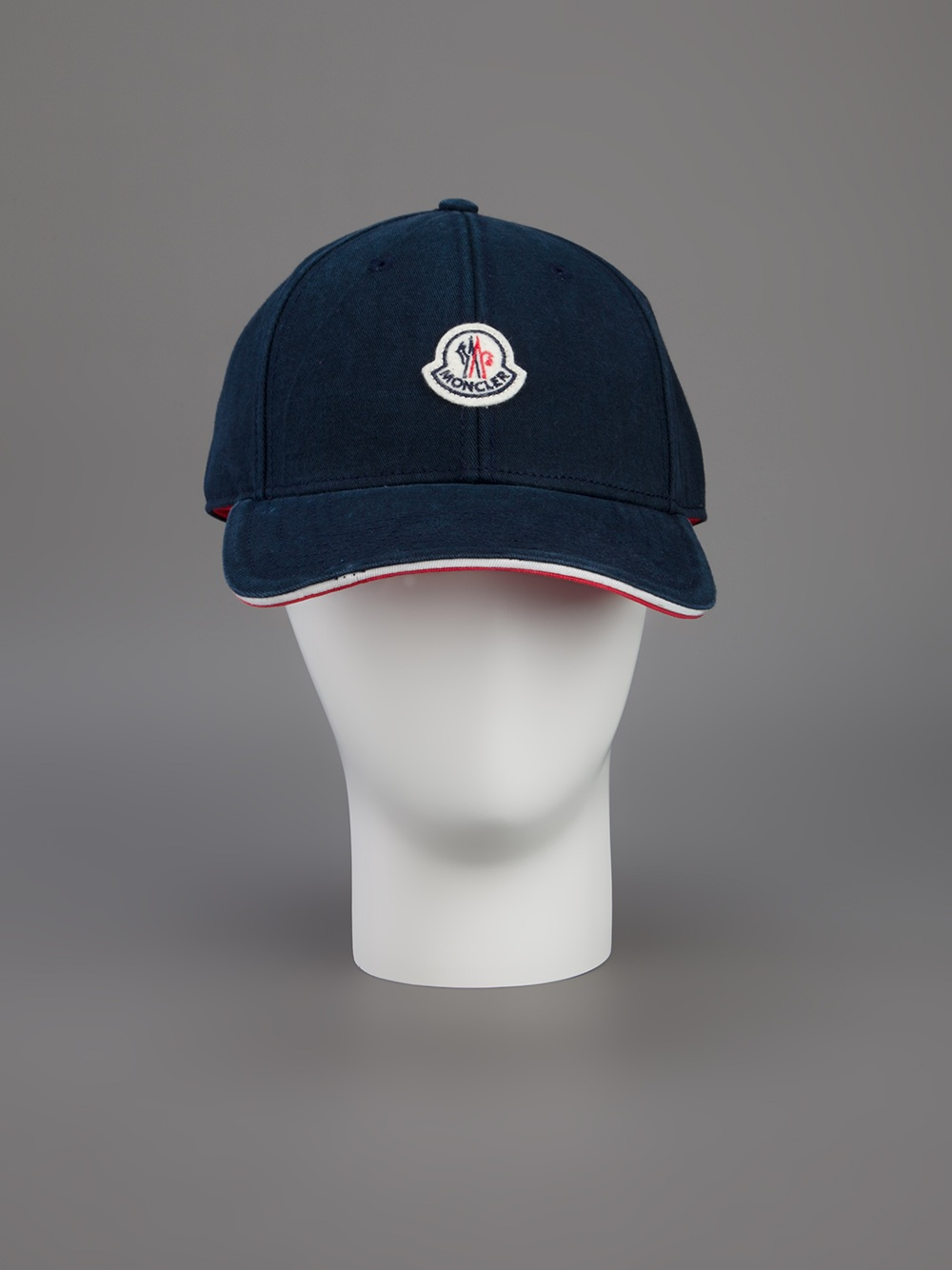 Moncler Logo Baseball Cap in Blue for Men - Lyst 4209d6051765