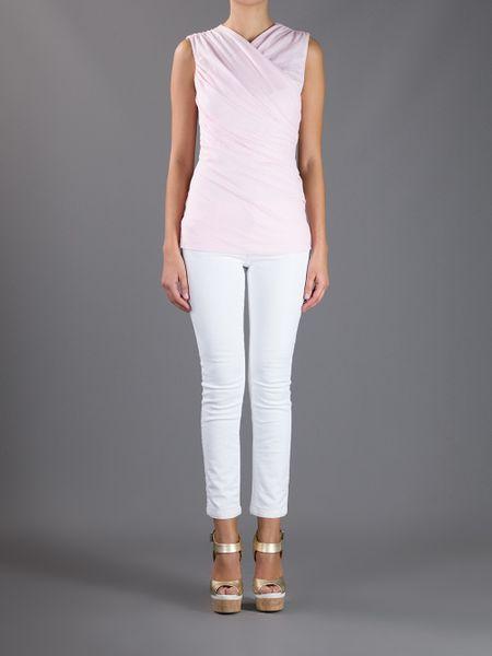 Ralph Lauren Charlotte Top In Pink Lyst