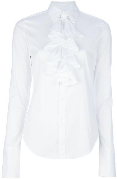 Ralph Lauren Ember Shirt in White - Lyst