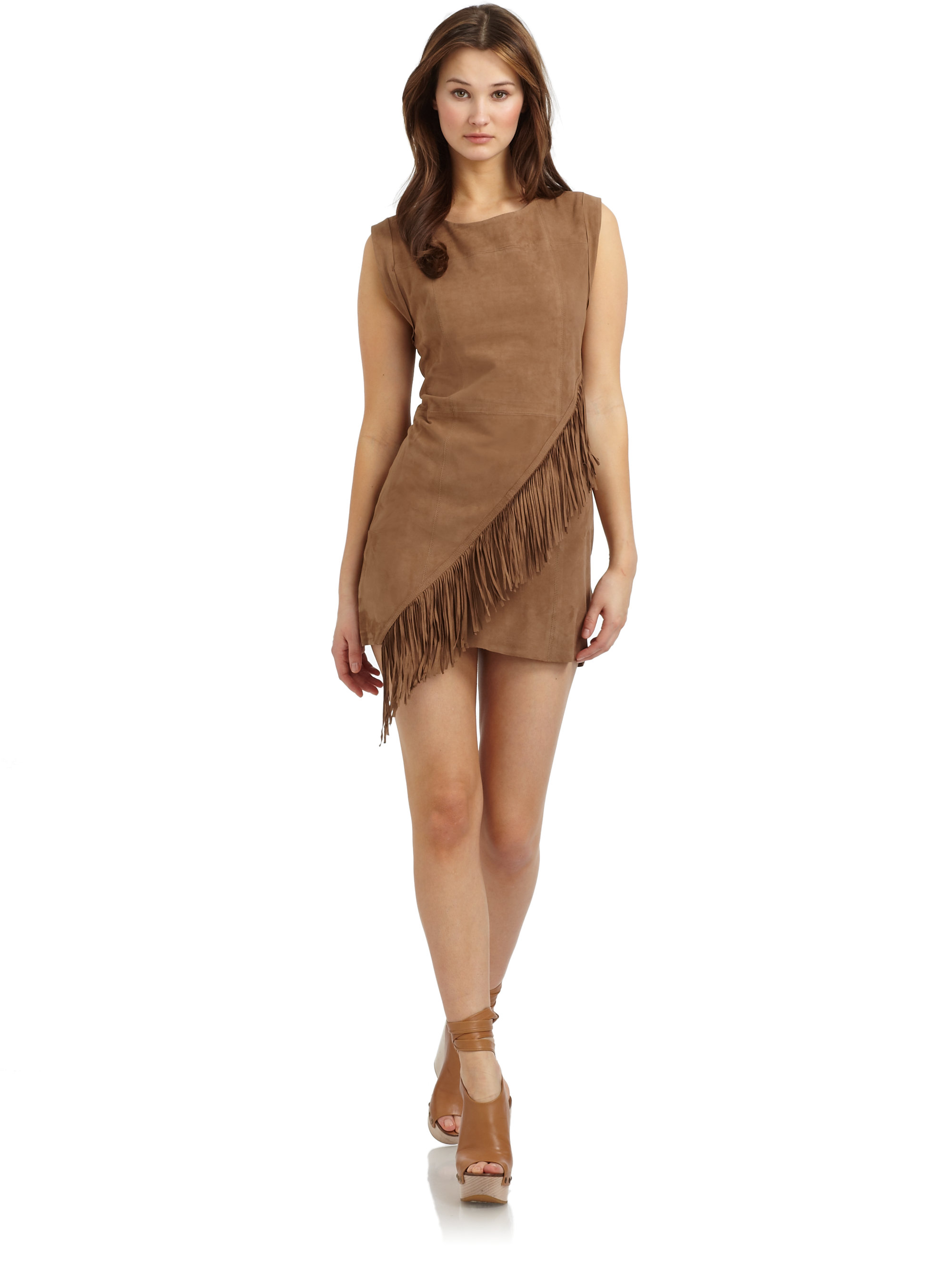 Find great deals on eBay for brown suede dress. Shop with confidence.