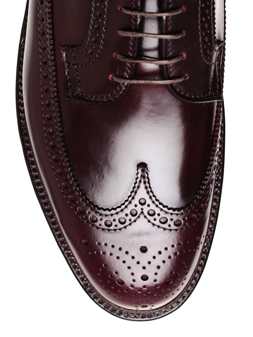 Alden Cordovan Leather Brogues In Brown For Men Lyst