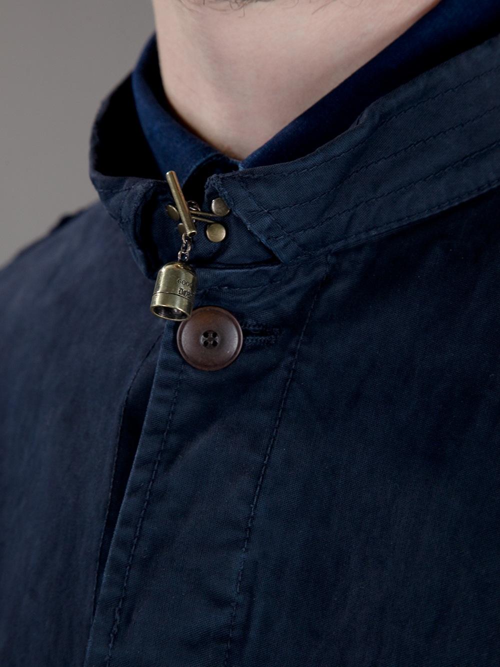 Dondup Field Jacket in Blue for Men