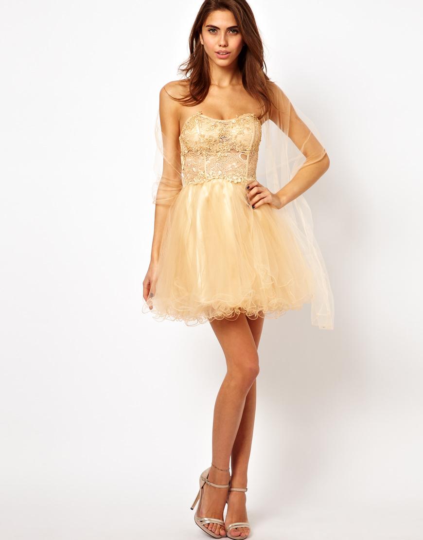 Unique Lace Prom Dresses