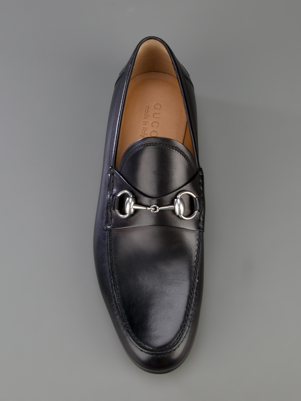 gucci horsebit loafer in black for men lyst. Black Bedroom Furniture Sets. Home Design Ideas