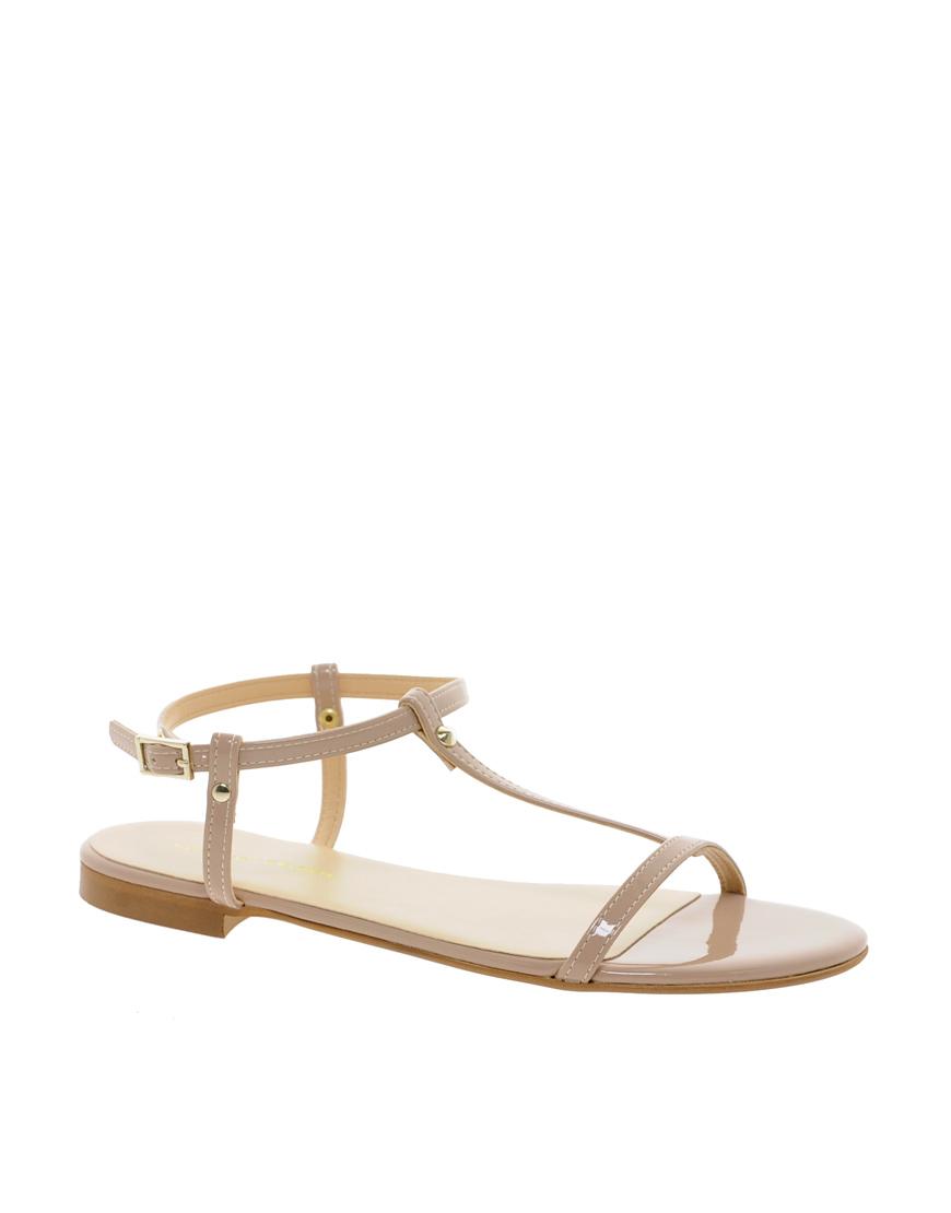 KG Kurt Geiger Womens Match Metallic Sandals ($78) liked