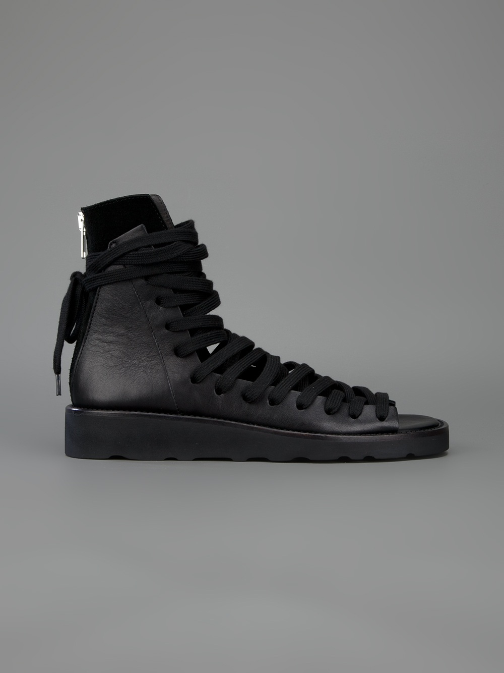 Kris Van Assche Multi Lace Shoes