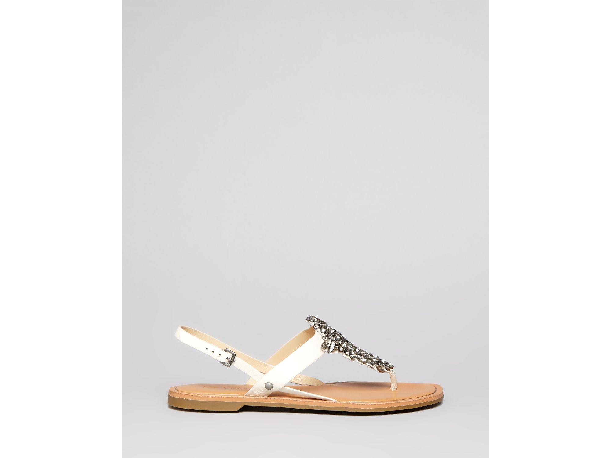 Vera Wang White Flat Shoes