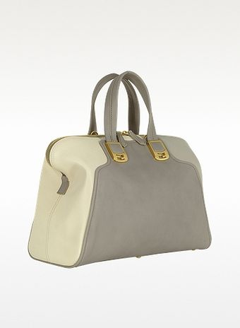 Fendi Colorblock Chameleon Leather Satchel - Lyst