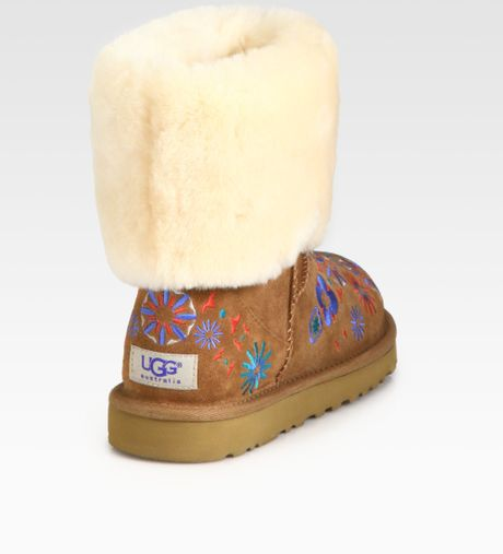 embroidered ugg boots