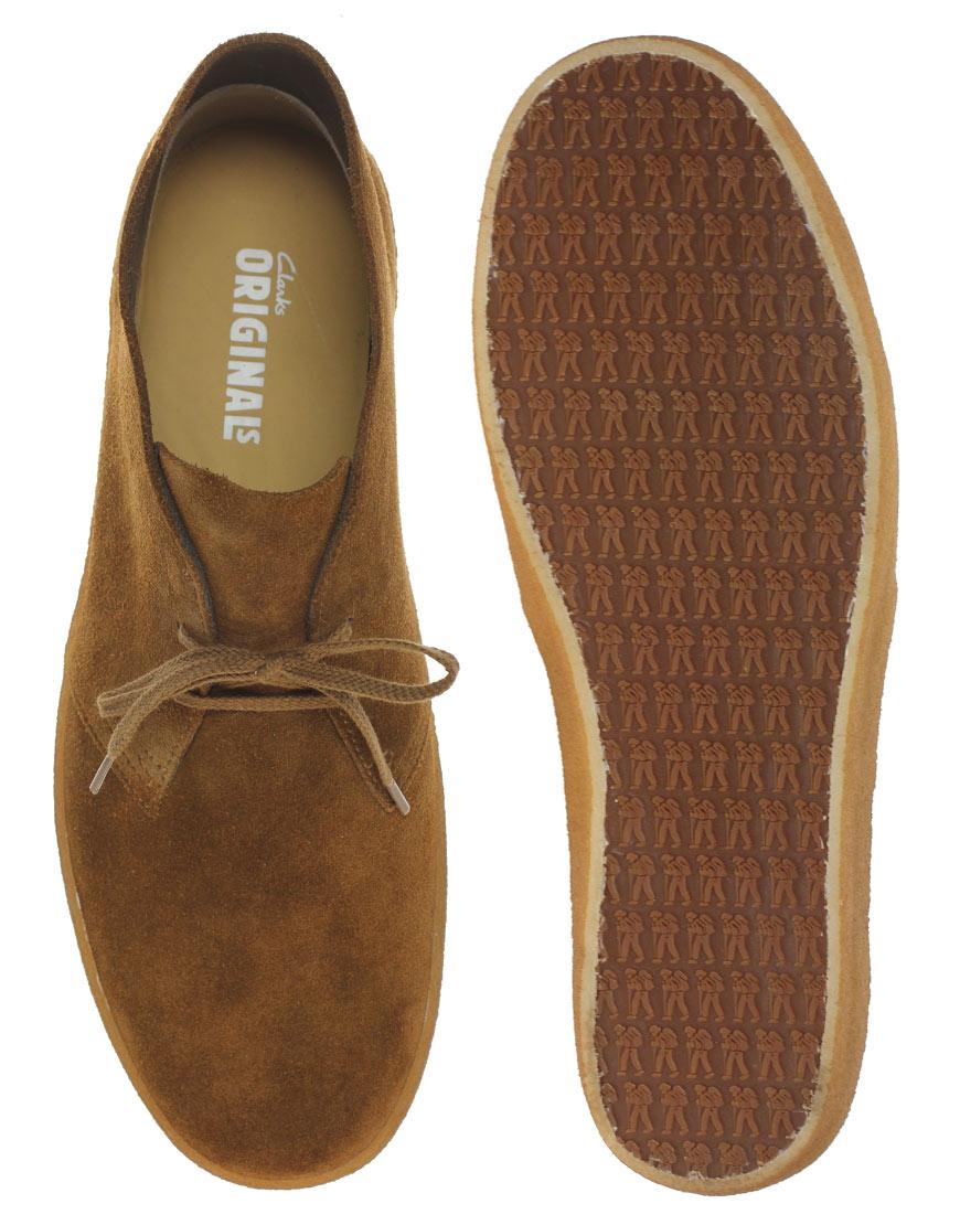 Clarks Originals Preston Desert Boots in Tan (Brown) for Men