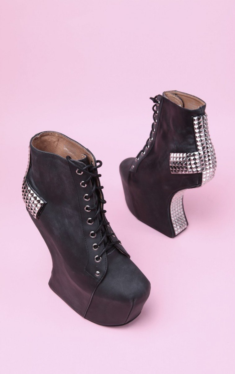 Lyst Jeffrey Campbell Jeffrey Campbell Holy In Black