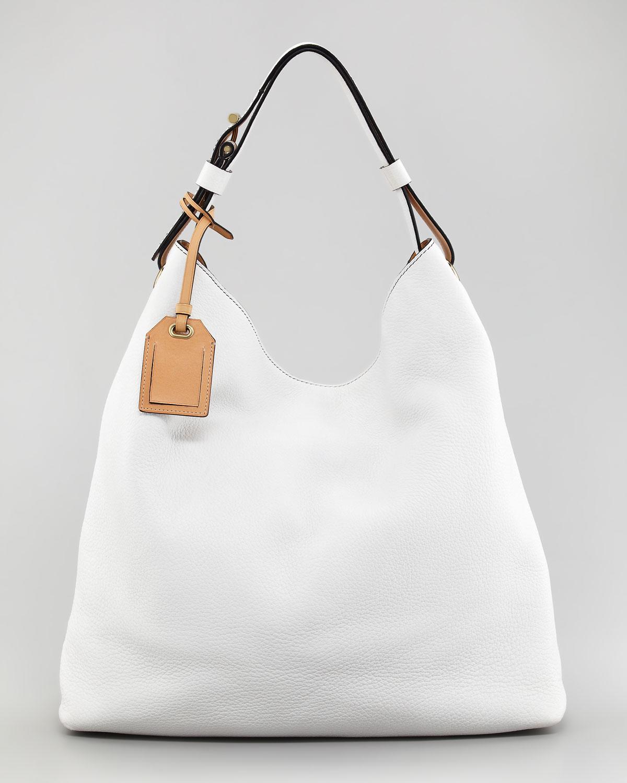 c7a5ac5d6a5e Lyst Reed Krakoff Standard Hobo Bag Optic White In
