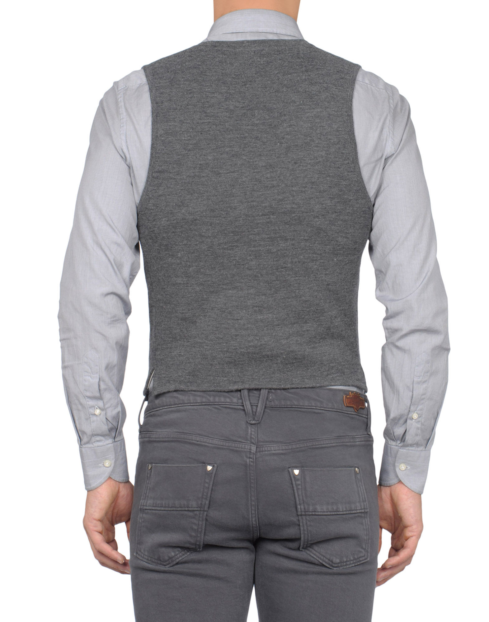 lyst scotch soda vest in gray for men. Black Bedroom Furniture Sets. Home Design Ideas