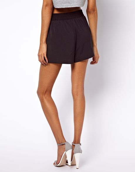 Scallop Hem Shorts Shorts With Scallop Hem