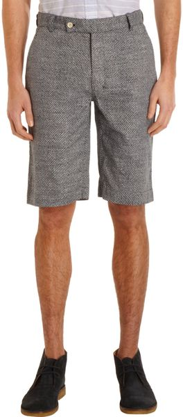 Brooklyn Tailors Olive Dot Shorts - Lyst