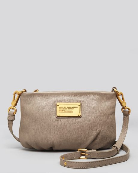 Marc By Marc Jacobs Crossbody Classic Q Percy in Beige (cement) | Lyst