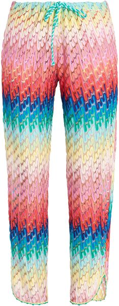 Missoni Draw String Trousers - Lyst