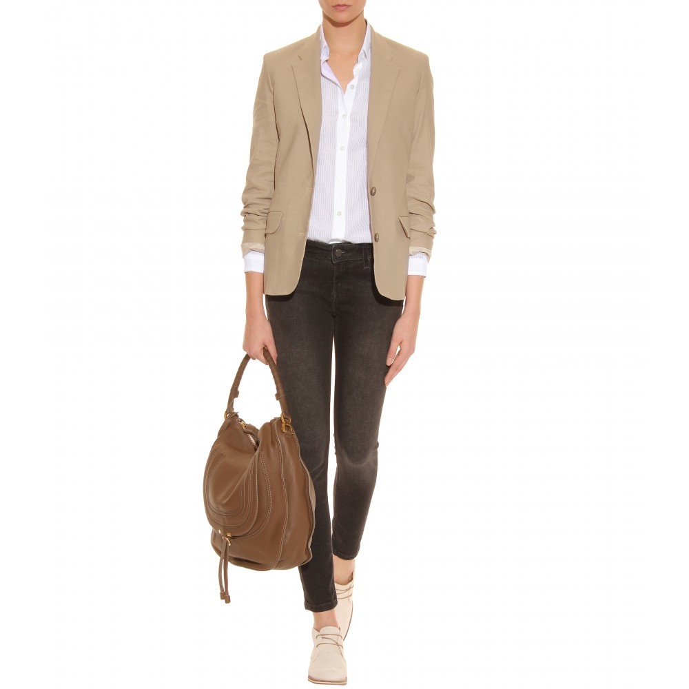 Tod S Tods No Code Suede Desert Boots In Natural Lyst