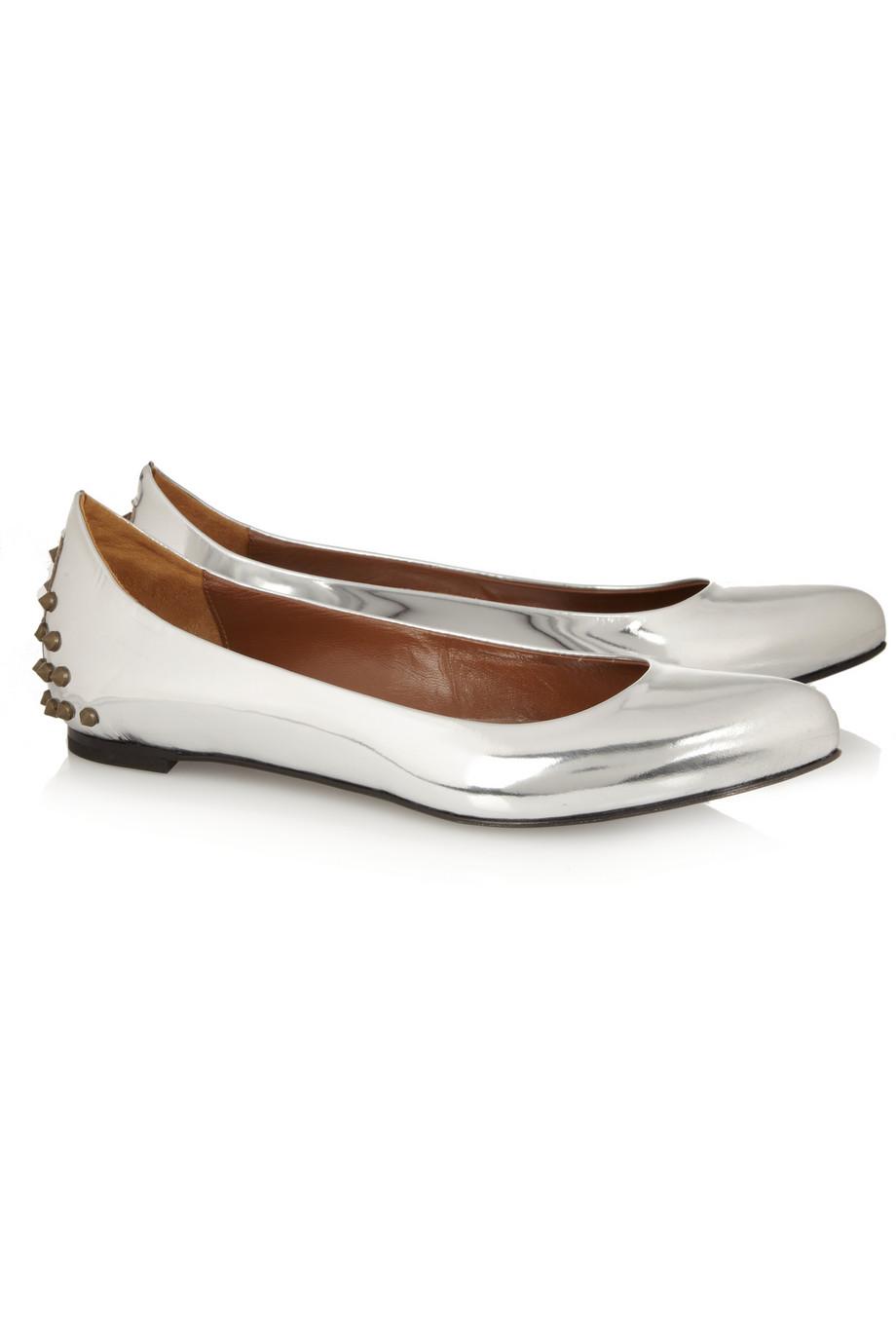 McQ Leather Ballet Flats EPuKRQ