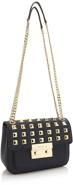 Sloan Studded Shoulder Bag 2