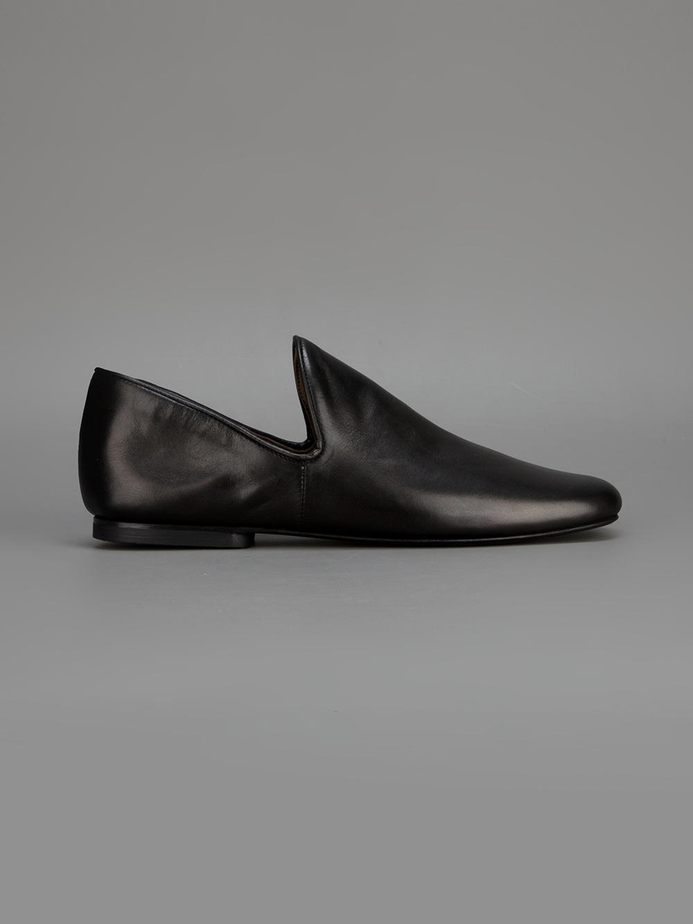 Christophe Lemaire Minimalist Loafer In Black For Men Lyst