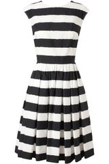 Dolce & Gabbana Striped Cotton Dress