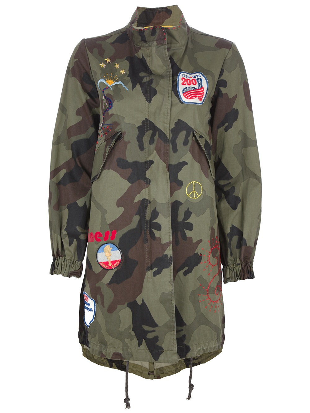 History repeats Military Jacket in Green