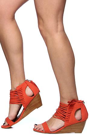 6bc16990ad6 Lyst - Matiko Shoes The Bryn Shoe in Papaya in Orange