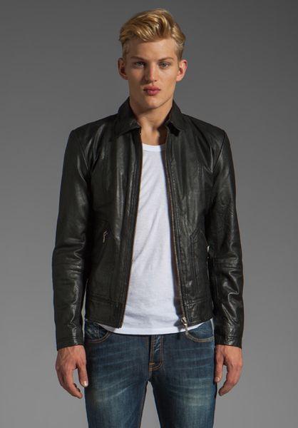 Nudie jonny leather jacket