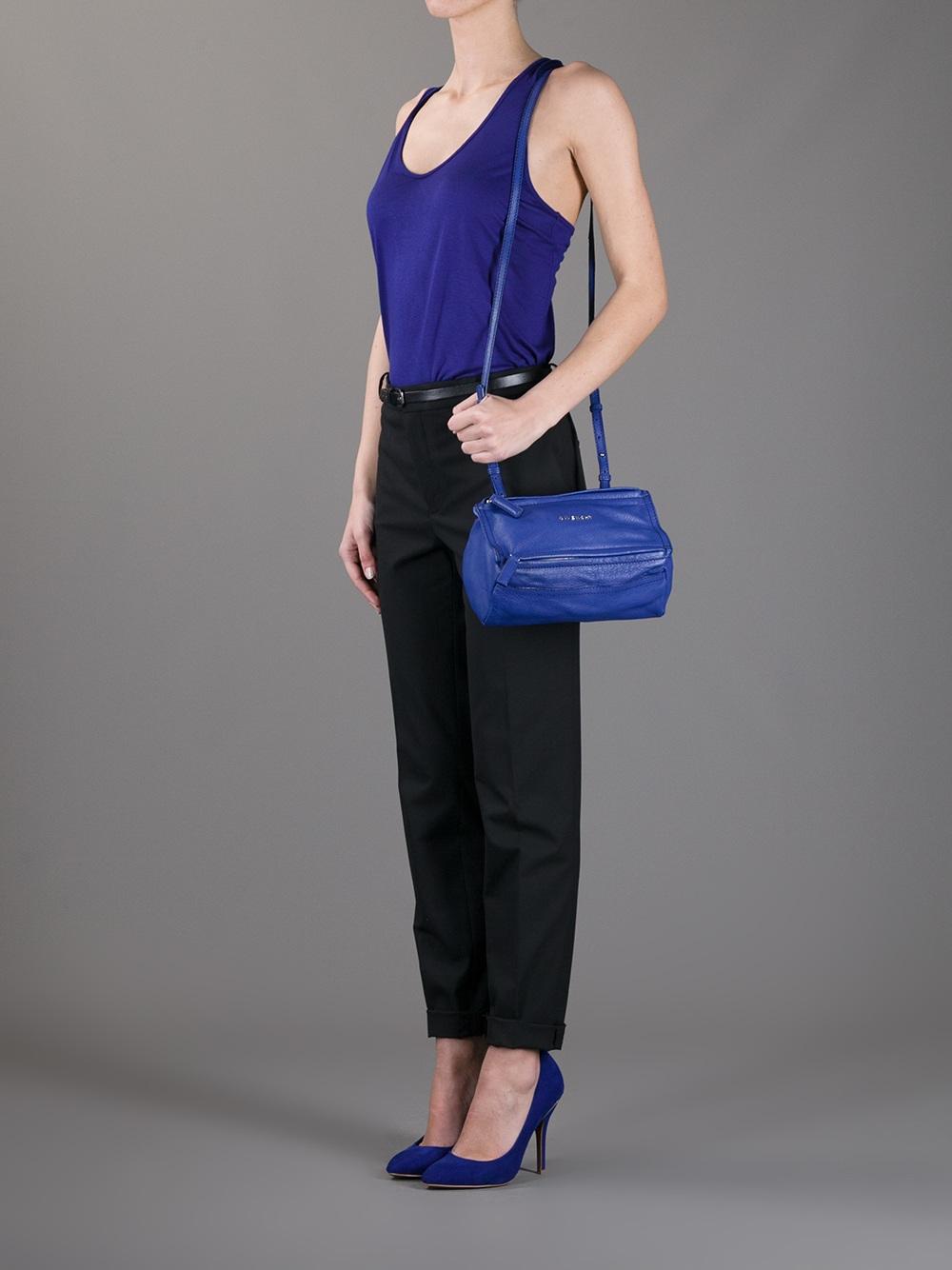 683f014adf Givenchy Mini Pandora Bag in Blue - Lyst