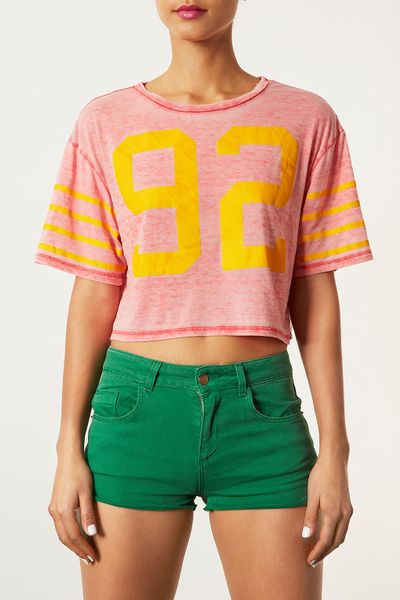 92 Best Images About Cute Guys On Pinterest: Topshop Number 92 Crop Top In Red