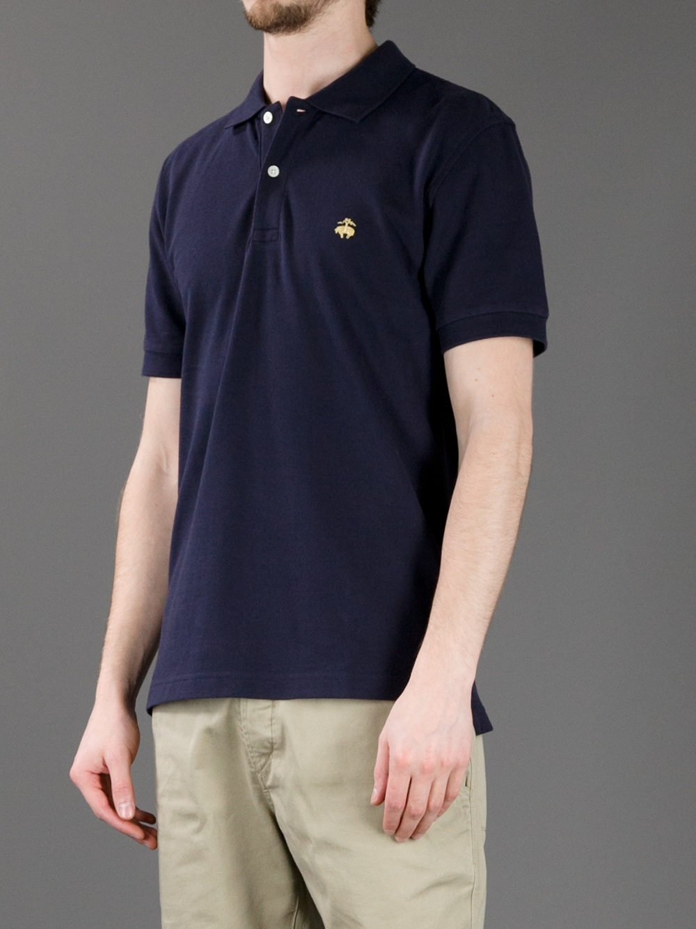 Lyst Brooks Brothers Classic Polo Shirt In Black For Men