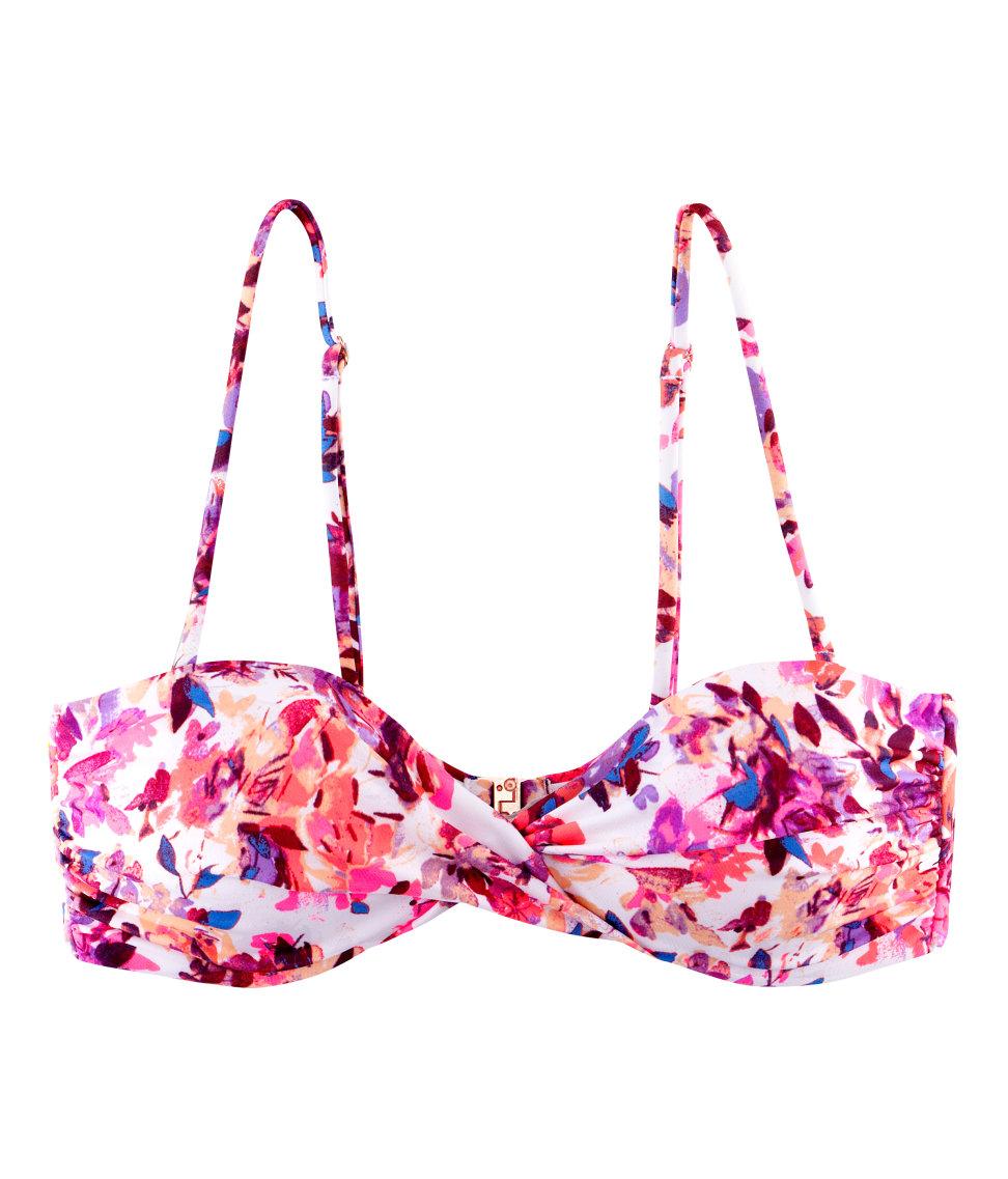 968fc6666c99 Lyst - H M Bikini Top